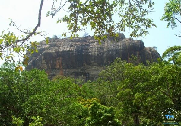 Sigiriya et son Rocher du Lion au Sri Lanka
