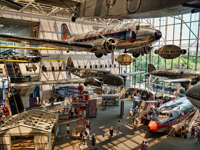 Smithsonian National Air and Space Museum, Washington D.C., Musée national de l'air et de l'espace