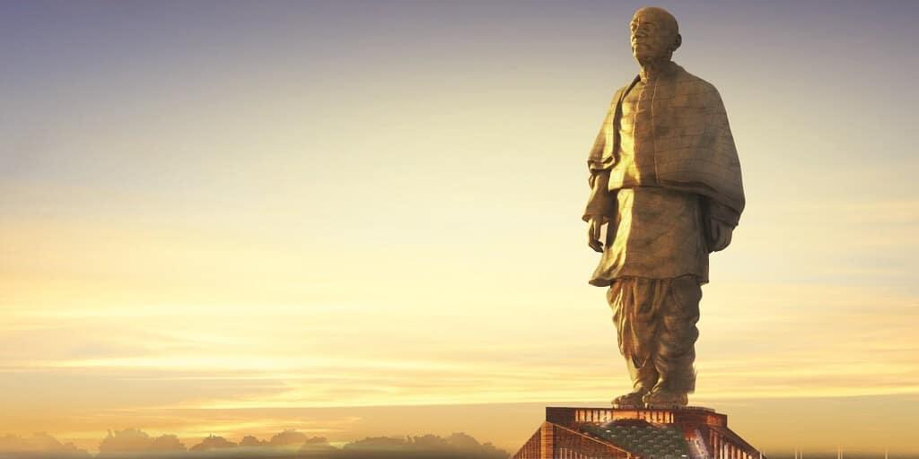 Statue de l'Unité, Statue of Unity, Inde, India