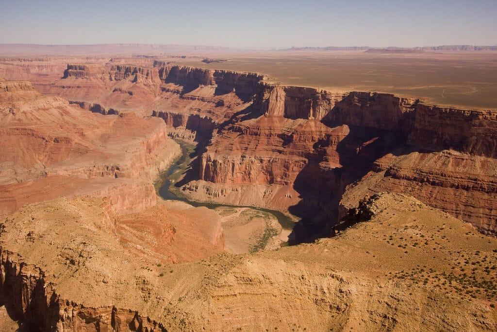 Survol du Grand Canyon en hélicoptère depuis Las Vegas en journée VIP