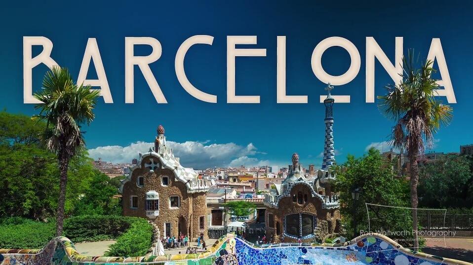 Un court métrage en vitesse accélérée pour découvrir Barcelone