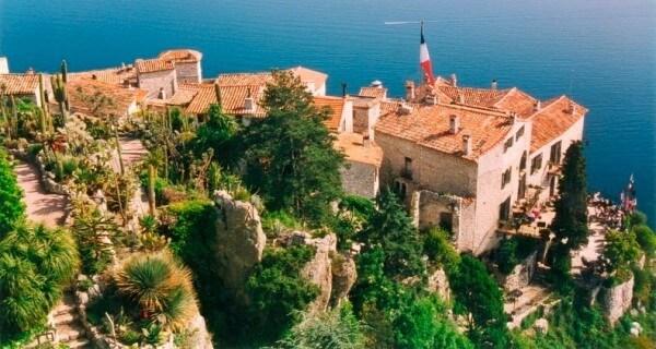 Villages perchés, Eze sur la Côte d'Azur