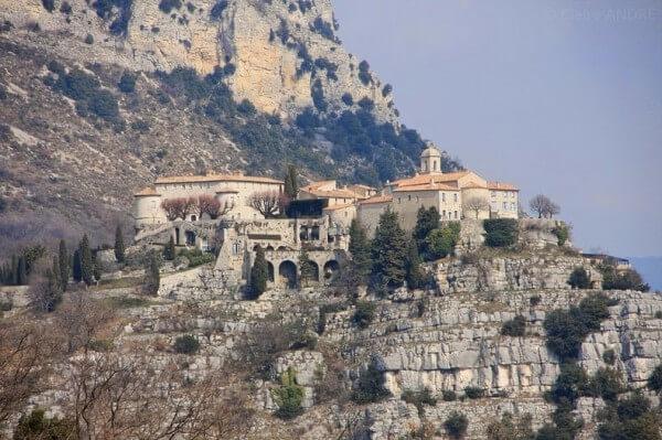 Villages perchés, Gourdon sur la Côte d'Azur