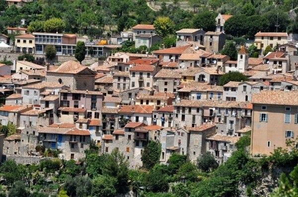 Villages perchés, Peillon sur la Côte d'Azur