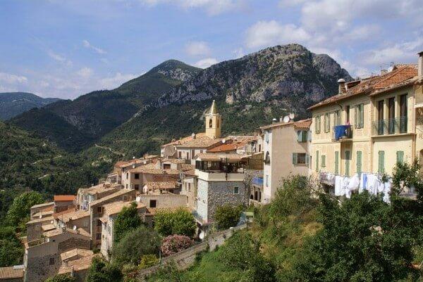Villages perchés, Sainte-Agnès sur la Côte d'Azur