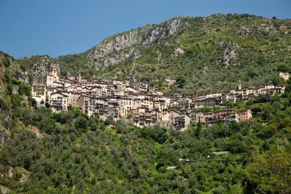 Villages perchés, Saorge sur la Côte d'Azur