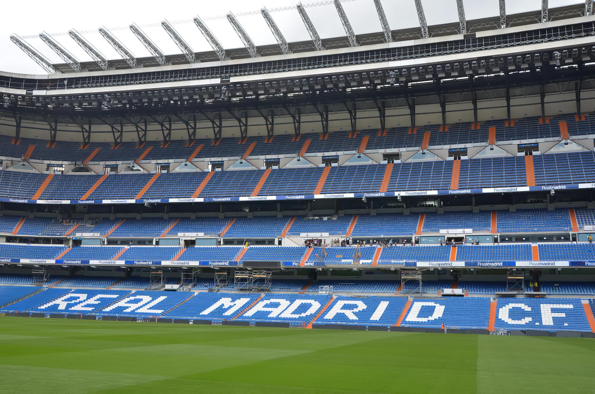 Visiter le stade Santiago Bernabéu à Madrid