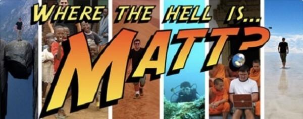 Where the Hell is Matt ?