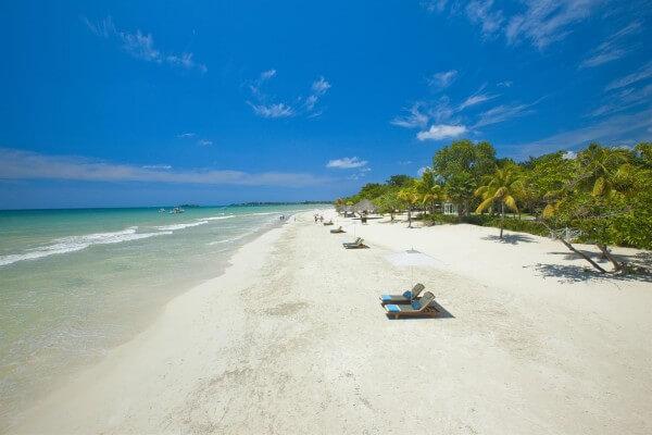 Seven miles beach, Jamaique