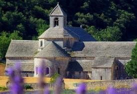 Abbaye de Senanque, avec la lavande, excursion Luberon, Marseille Aix