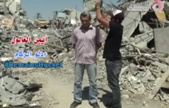 Vidéo : La version palestinienne du ice bucket challenge
