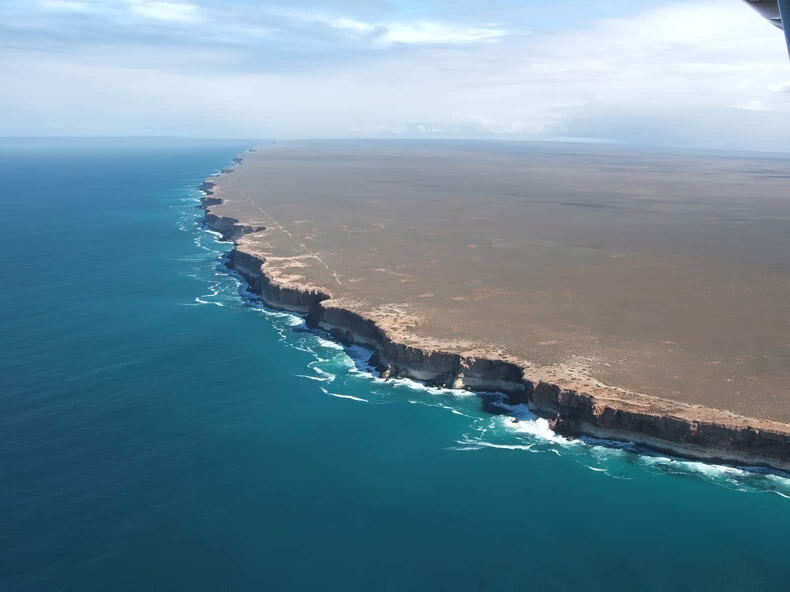 Les falaises de Bunda en Australie, le bout du monde?