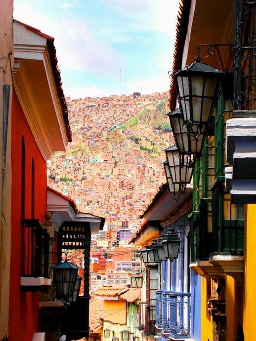 Calle Jaen, rue Jaen, La Paz, Bolivie