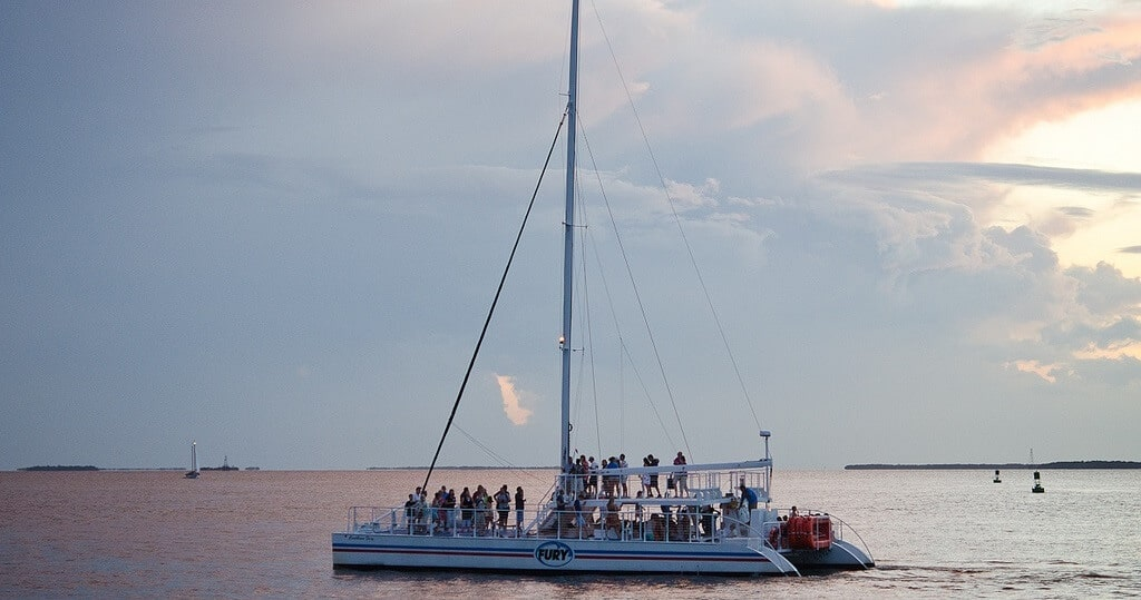 Catamaran sports Key West aventure