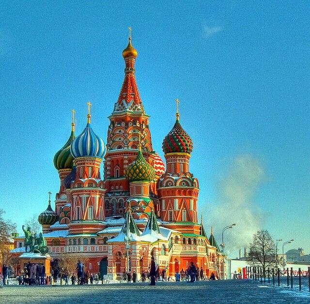 Cathédrale Saint Basile-le-Bienheureux à Moscou