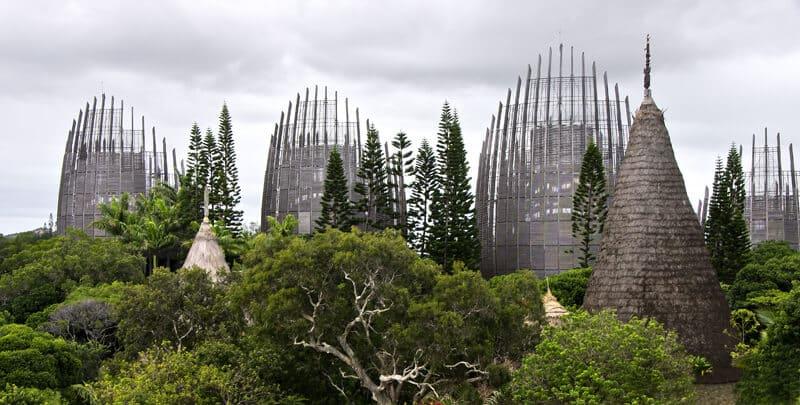 Centre Tjibaou, Nouvelle Calédonie