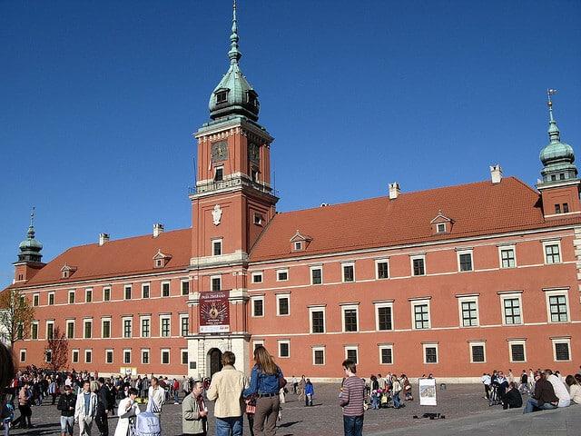 Château royal de Varsovie, Pologne