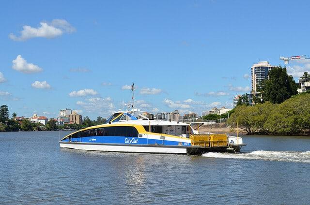 CityCat Brisbane, Croisière rivière Australie