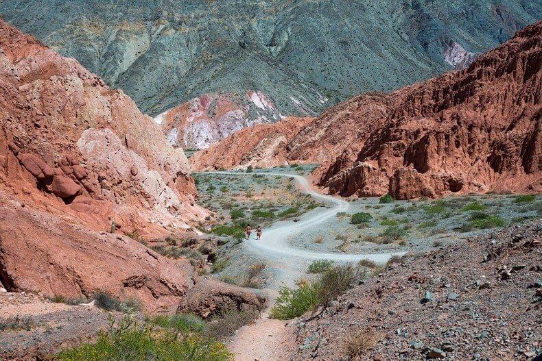 Colline aux sept couleurs, Purmamarca, Argentine
