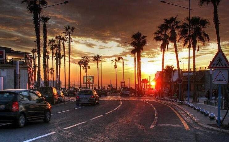 Corniche, Casablanca, Maroc
