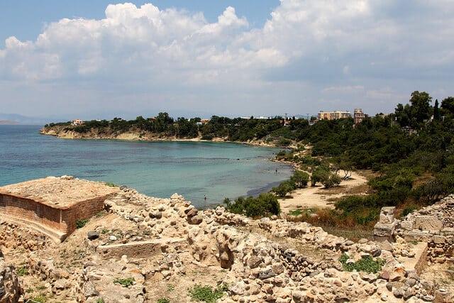 Croisière dans les îles du golfe Saronique, Egine, Athènes, Grèce