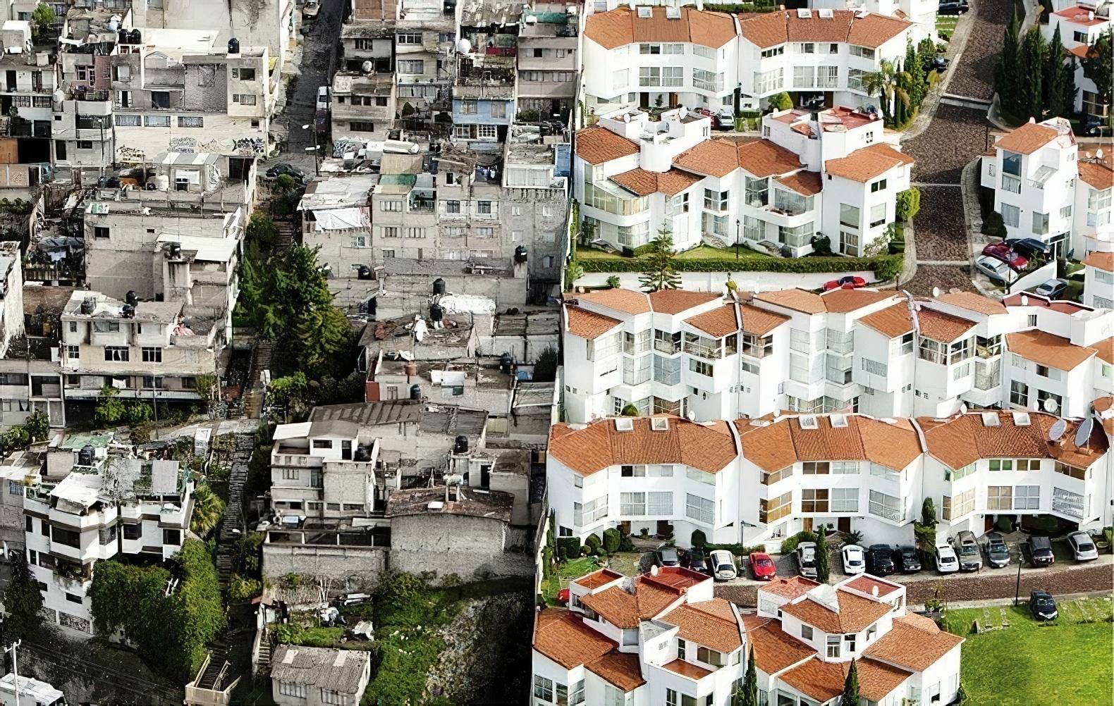 Erase the difference, écart entre riches et pauvres à Mexico, par Oscar Ruiz
