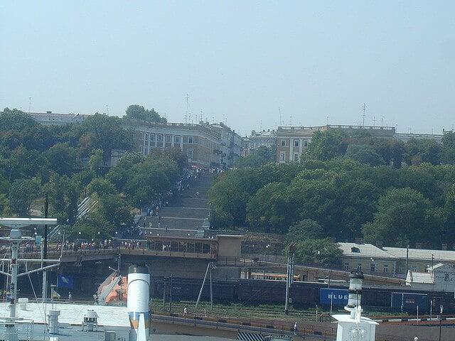 Escalier du Potemkine, Odessa, Ukraine