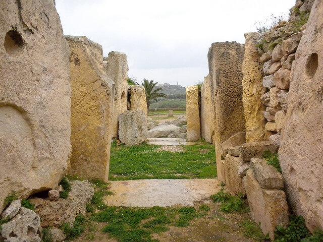 Ggantija, temples mégalithiques de Malte