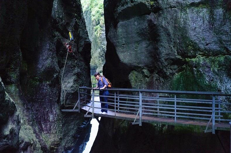 Gorges de l'Aar, Suisse