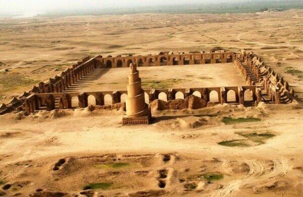 La Grande Mosquée de Samarra en Irak