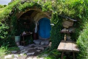 Hobbiton, Hobbitebourg, Matamata, village des Hobbits, Auckland, Nouvelle Zélande