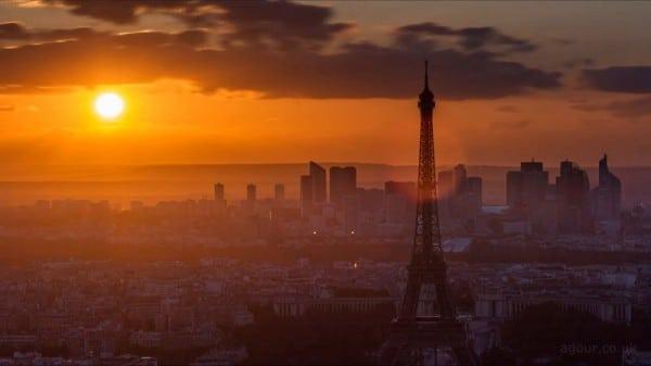 «J'adore Paris», 3 semaines dans la capitale en Time-Lapse