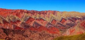 Les montagnes de Hornocal et la colline aux 7 couleurs de Purmamarca