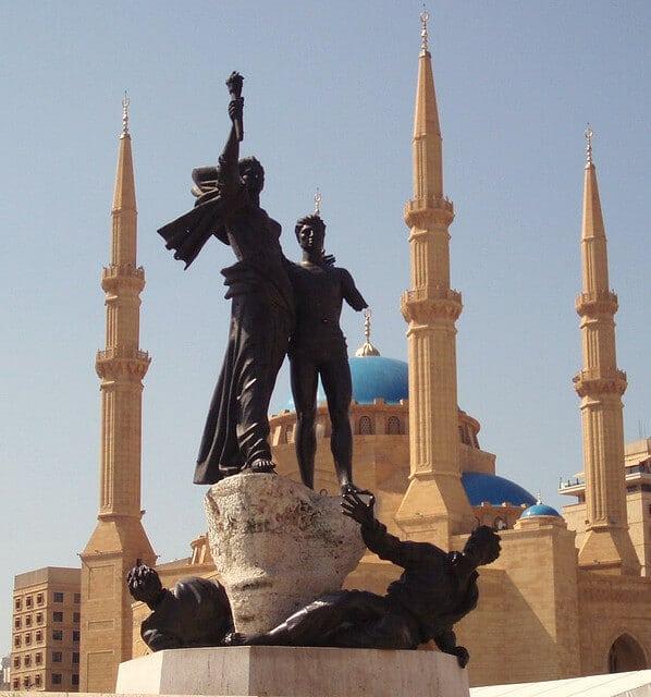 Mosquée Al Amin, Place des Martyrs, Beyrouth, Liban