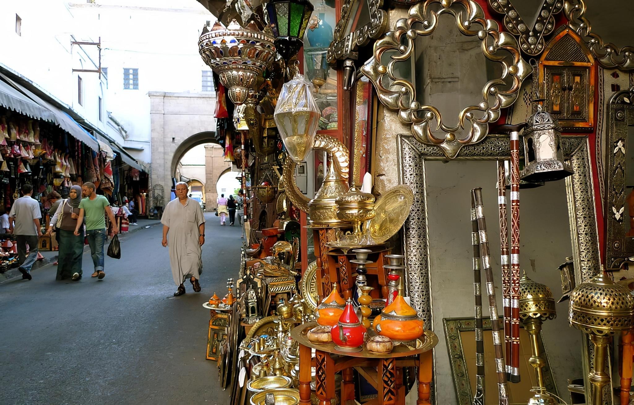 Nouvelle Medina Casablanca, Quartier Habous