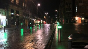 passage piéton innovant à Vigo, Espagne