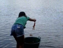 peche piranha Brésil