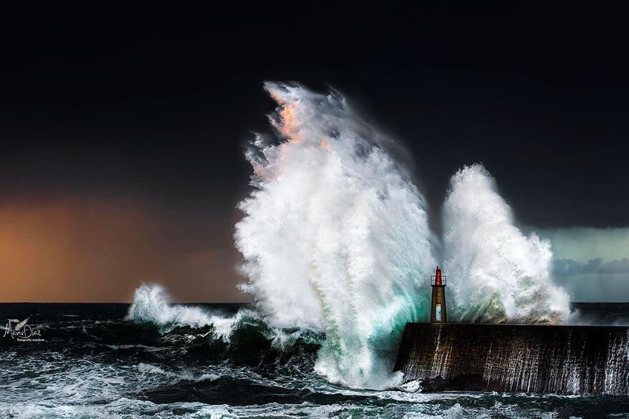 Photos de phares sous la tempête, réussi l'épreuve du temps