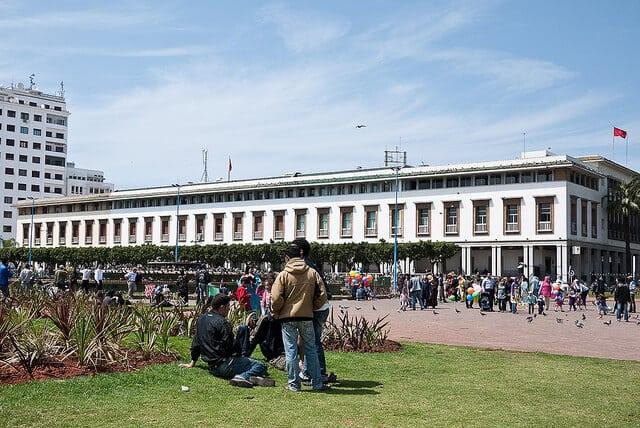Place Mohammed V Casablanca