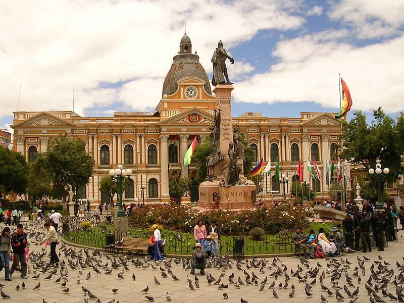 Plaza Murillo, Place Murillo, La Paz, Bolivie