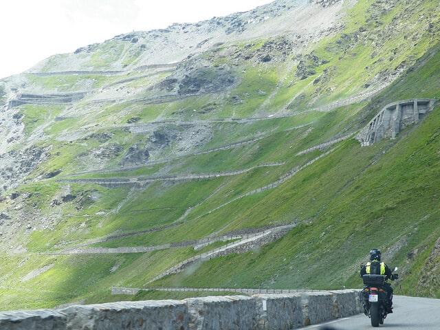 Plus belles routes de moto, Col du Stelvio,Italie