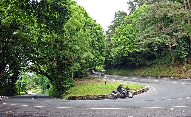 Plus belles routes de moto, île de Man au Royaume Uni
