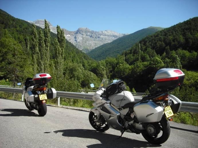 Plus belles routes de moto, N-240, Pyrénées, Espagne