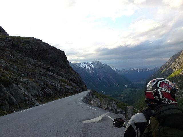 Plus belles routes de moto, Trollstigen, Norvège