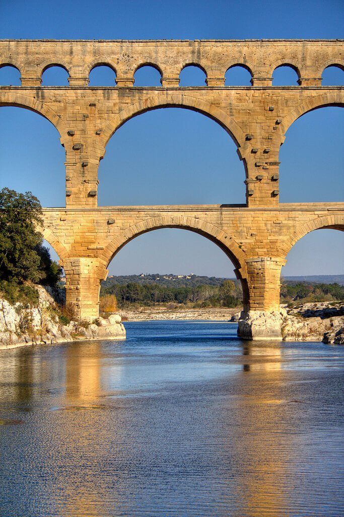 Pont Du Gard voûte