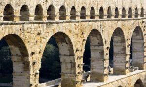 Pont Du Gard vue proche