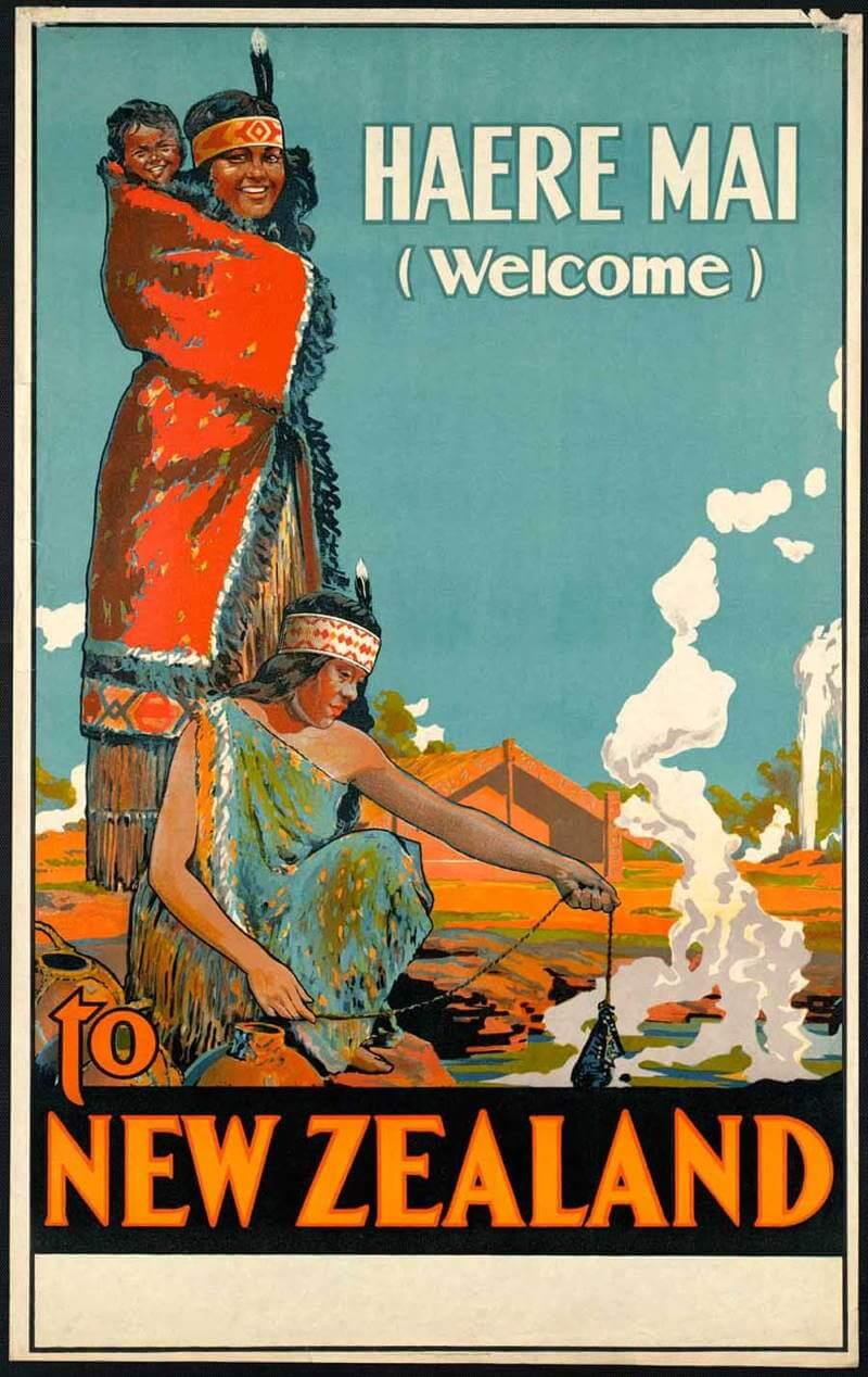 posters affiches vintage promouvant le tourisme et le voyage dans le passe