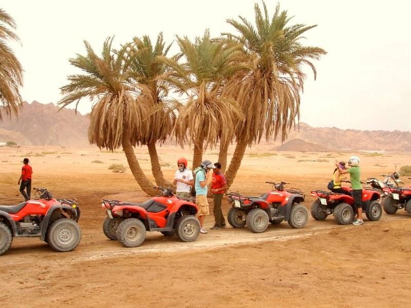 Quad desierto Dubai