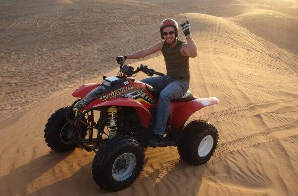 Découvrez le désert de Dubaï en quad