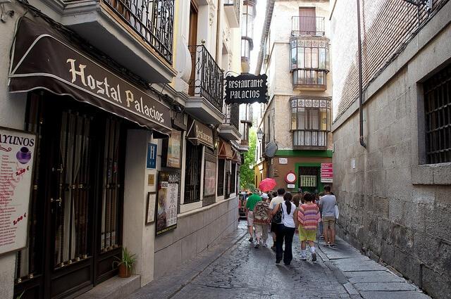 Rue Tolède Espagne